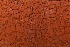 ραγισμένο παλαιό χρώμα Πορτοκαλιά ανασκόπηση Στοκ Εικόνα