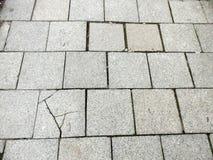 ραγισμένο πεζοδρόμιο Στοκ εικόνα με δικαίωμα ελεύθερης χρήσης