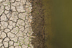 ραγισμένο τοπίο εδάφους Στοκ φωτογραφίες με δικαίωμα ελεύθερης χρήσης