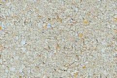 Ραγισμένο χρώμα στην ξύλινη επιτροπή Στοκ Εικόνες