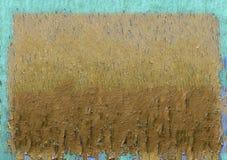 Ραγισμένο χρώμα στο ξύλινο πλαίσιο επιτροπής Στοκ Φωτογραφίες