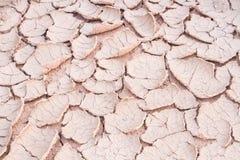Ραγισμένο χώμα και αποφλοίωση Στοκ εικόνες με δικαίωμα ελεύθερης χρήσης