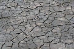 Ραγισμένο χώμα Στοκ φωτογραφία με δικαίωμα ελεύθερης χρήσης