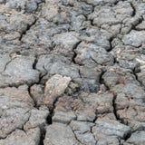 ραγισμένο χώμα Στοκ εικόνες με δικαίωμα ελεύθερης χρήσης