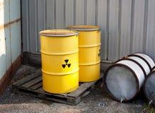 ραδιενεργά απόβλητα Στοκ εικόνα με δικαίωμα ελεύθερης χρήσης