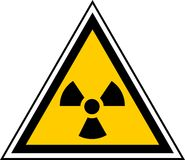 ραδιενεργό σήμα Στοκ Φωτογραφία