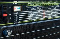 ραδιο αναδρομικός Στοκ Εικόνα