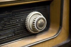 ραδιο αναδρομικός Στοκ Φωτογραφία