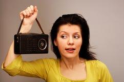 ραδιο αναδρομικός Στοκ εικόνες με δικαίωμα ελεύθερης χρήσης