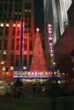 Ραδιο πόλη, πόλη της Νέας Υόρκης Στοκ φωτογραφίες με δικαίωμα ελεύθερης χρήσης