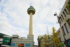 Ραδιο πύργος Λίβερπουλ πόλεων Στοκ φωτογραφία με δικαίωμα ελεύθερης χρήσης