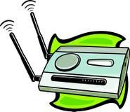 ραδιόφωνο δρομολογητών &del Στοκ Εικόνες