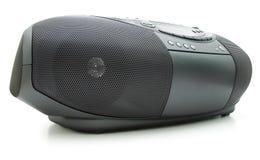 ραδιόφωνο μηχανημάτων αναπαραγωγής CD κασετών στοκ εικόνες