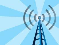 ραδιόφωνο πύργων ανασκόπησ διανυσματική απεικόνιση