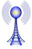 ραδιόφωνο πύργων διανυσματική απεικόνιση