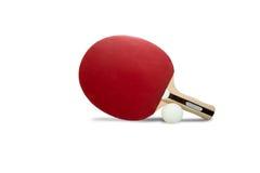 Ρακέτα επιτραπέζιας αντισφαίρισης στοκ φωτογραφία με δικαίωμα ελεύθερης χρήσης