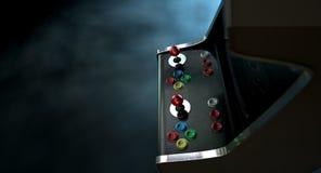 Δραματική άποψη μηχανών Arcade Στοκ Φωτογραφίες