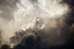 δραματικός ουρανός Στοκ Εικόνα