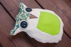 Ραμμένο μηχανή μαξιλάρι owlet DIY Στοκ εικόνες με δικαίωμα ελεύθερης χρήσης