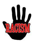 Ρατσισμός Handprint ελεύθερη απεικόνιση δικαιώματος
