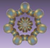 ραψωδία μαργαριταριών διανυσματική απεικόνιση