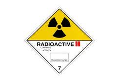 Ραδιενέργεια Στοκ φωτογραφίες με δικαίωμα ελεύθερης χρήσης