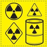 ραδιενέργεια Ελεύθερη απεικόνιση δικαιώματος
