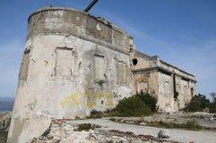 Ραδιοσταθμός moresca της Σαρδηνίας cala του marconi guglielmo Στοκ Εικόνες
