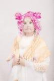 Ραδιουργημένος θηλυκός χαρακτήρας Cosplay Στοκ φωτογραφία με δικαίωμα ελεύθερης χρήσης
