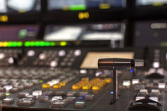 Ραδιοφωνική μετάδοση TV Στοκ εικόνα με δικαίωμα ελεύθερης χρήσης