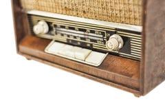 ραδιο αναδρομικός κινηματογραφήσεων σε πρώτο πλάνο Στοκ Εικόνα