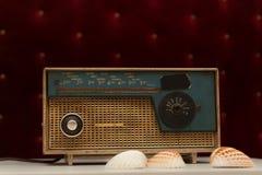 ραδιο αναδρομικός φορέων Στοκ φωτογραφίες με δικαίωμα ελεύθερης χρήσης