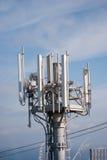 Ραδιο ασύρματες κεραίες Στοκ φωτογραφία με δικαίωμα ελεύθερης χρήσης