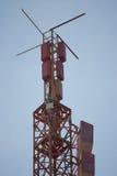 Ραδιο ασύρματες κεραίες Στοκ εικόνες με δικαίωμα ελεύθερης χρήσης