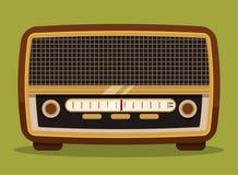 Ραδιο εκλεκτής ποιότητας σχέδιο Στοκ εικόνες με δικαίωμα ελεύθερης χρήσης