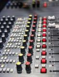 Ραδιο επιτροπή αναμικτών Στοκ εικόνα με δικαίωμα ελεύθερης χρήσης
