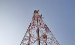 Ραδιο ιστός Στοκ φωτογραφία με δικαίωμα ελεύθερης χρήσης