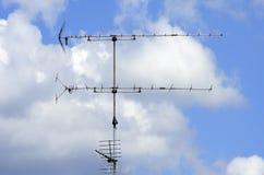 ραδιο σύμβολο εικονιδίων κουμπιών κεραιών Στοκ Φωτογραφίες