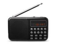 Ραδιο mp3 φορέας τσεπών FM Στοκ Εικόνες