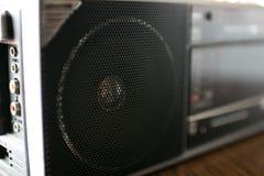 ραδιο speake 90 ` s στοκ φωτογραφία με δικαίωμα ελεύθερης χρήσης