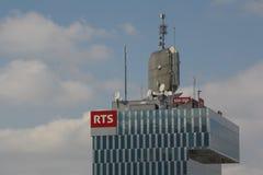Ραδιο Télévision Suisse (RTS) Στοκ Φωτογραφίες