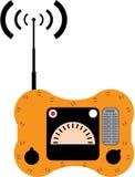 Ραδιόφωνο βαρκών ζωής απεικόνιση αποθεμάτων