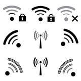 ραδιόφωνο εικονιδίων Στοκ εικόνα με δικαίωμα ελεύθερης χρήσης