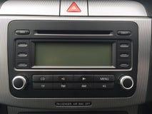 Ραδιόφωνο του Volkswagen Passat Στοκ Εικόνες