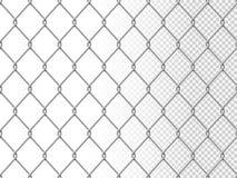Ρεαλιστική αλυσίδων σύσταση περίφραξης αλυσίδα-συνδέσεων σχεδίων συνδέσεων άνευ ραφής στοκ εικόνες
