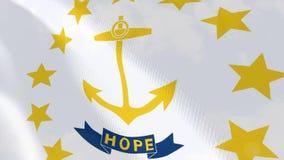 Ρεαλιστική ζωτικότητα σημαιών της Ρόδου ελεύθερη απεικόνιση δικαιώματος