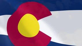 """Ρεαλιστική ζωτικότητα σημαιών Ï""""Î¿Ï… Κολοράντο ελεύθερη απεικόνιση δικαιώματος"""