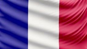 Ρεαλιστική όμορφη σημαία του Mayotte 4k φιλμ μικρού μήκους