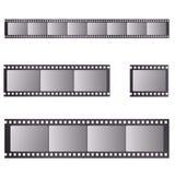 Ρεαλιστικό διάνυσμα filmstrip αναδρομικό ελεύθερη απεικόνιση δικαιώματος