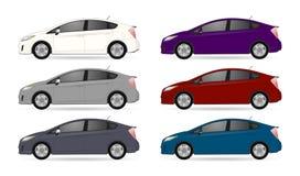 Ρεαλιστικό σύνολο αυτοκινήτων στοκ φωτογραφία με δικαίωμα ελεύθερης χρήσης